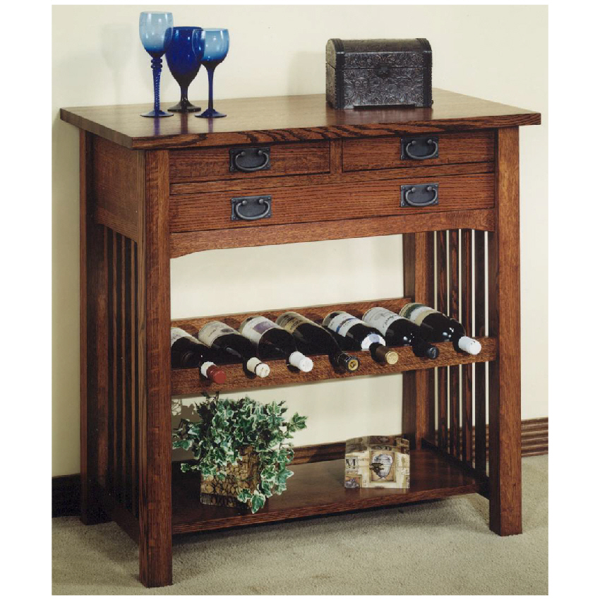 Mission Wine Cabinet - thesecretconsul.com