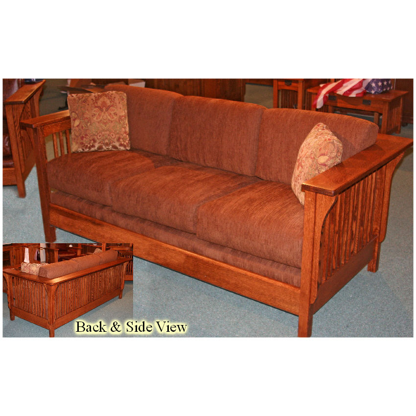 Salt Lake City Mission Spindle Sofa Sugar House Furniture Ogden Ut
